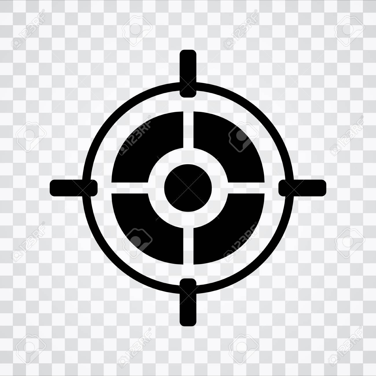 target aim icon royalty free cliparts vectors and stock illustration image 81206734 target aim icon