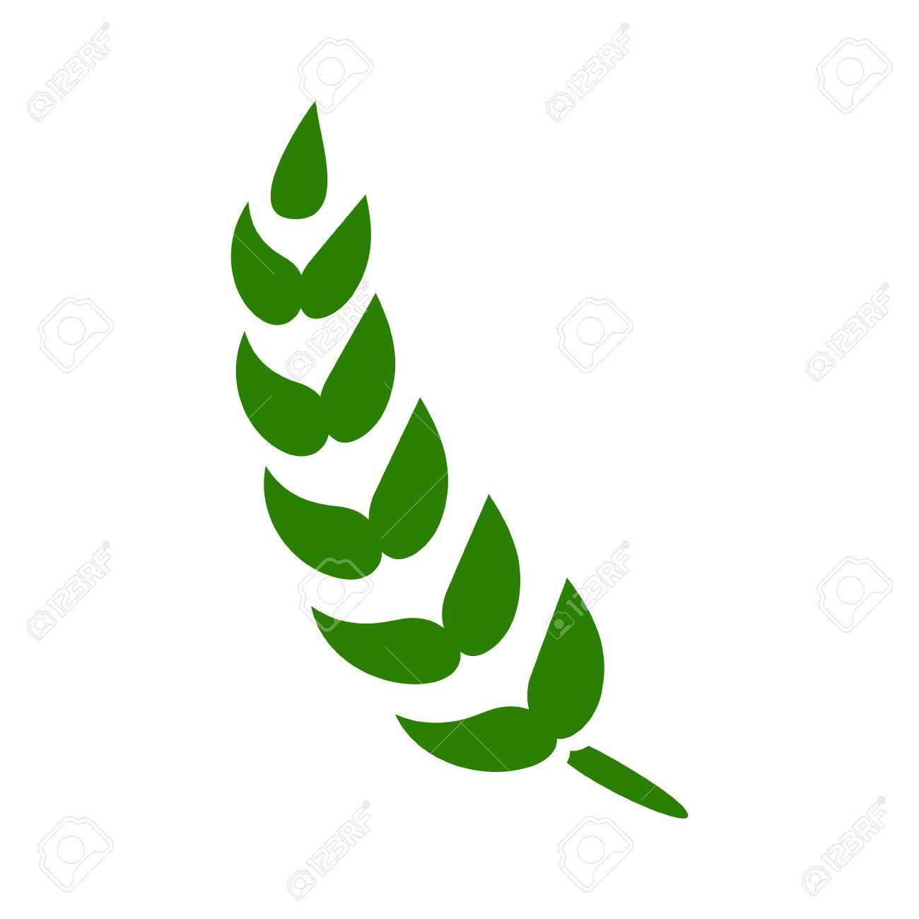 Gluten Free Icon  Vector Gluten Symbol - Healthy Organic Grain