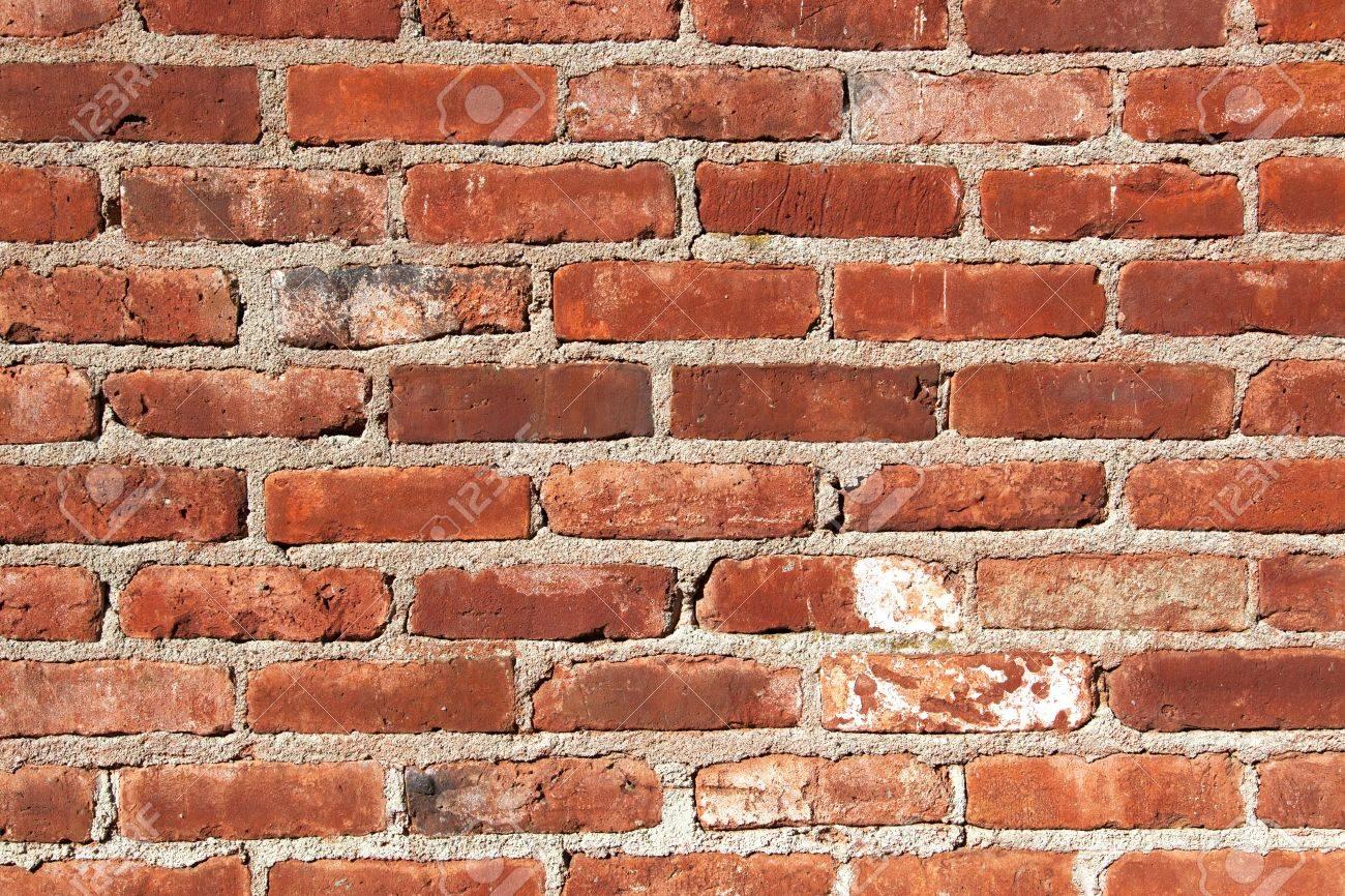 Mur En Brique Rouge agé de mur de brique rouge fond
