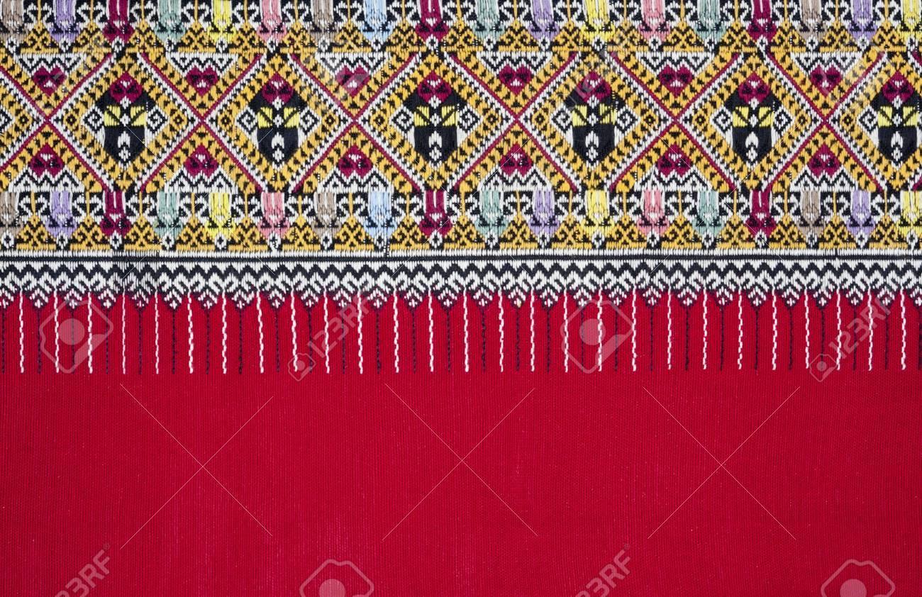 Ancient Pattern style Thai Cotton Stock Photo - 13505392