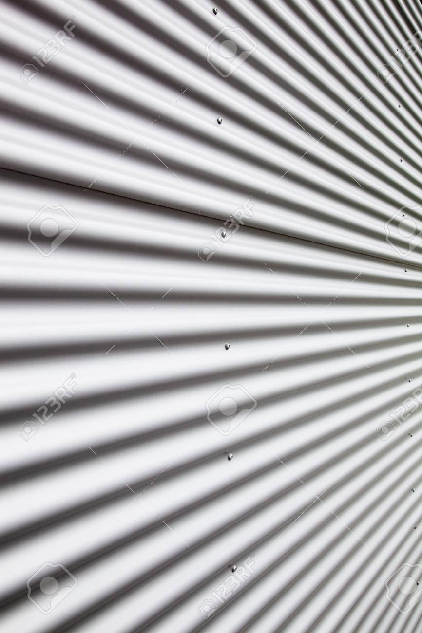 Corrugated metal sheet Stock Photo - 5369567