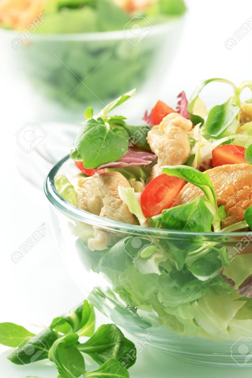 Chicken salad Stock Photo - 5401165