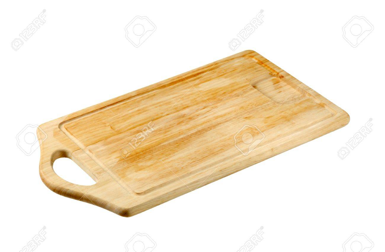 Rectangle wooden cutting board Stock Photo - 5784871