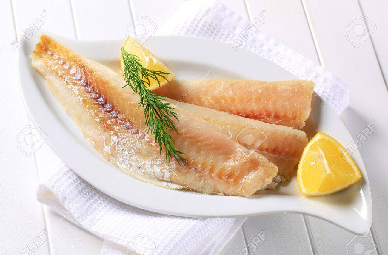 Pan Fried White Fish Fillets Stock Photo Picture And Royalty Free Image Image 15993821