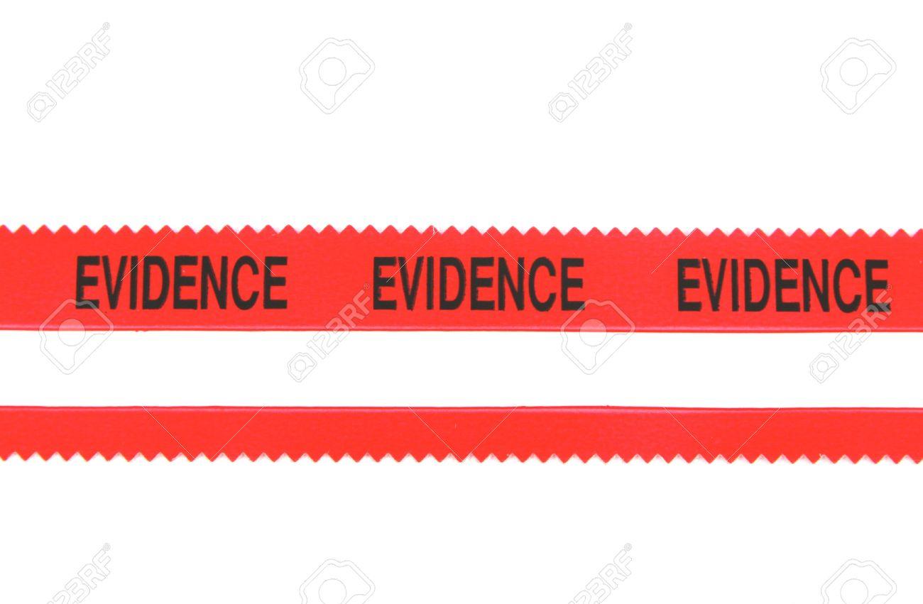 Police Evidence Tape Stock Photo - 297737