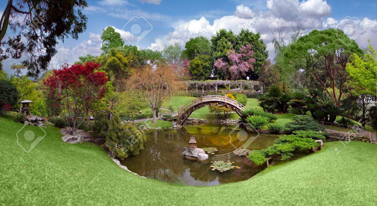 Botanical Garden At The Huntington Library In California Stock Photo Picture And Royalty Free Image Image 5407155
