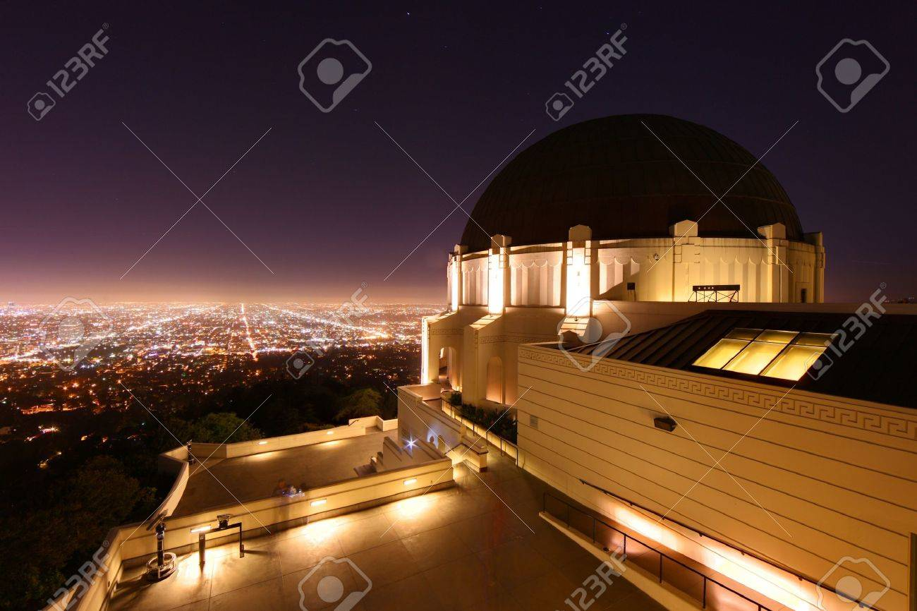 Griffith Observatory in Los Angeles, California - 9863079