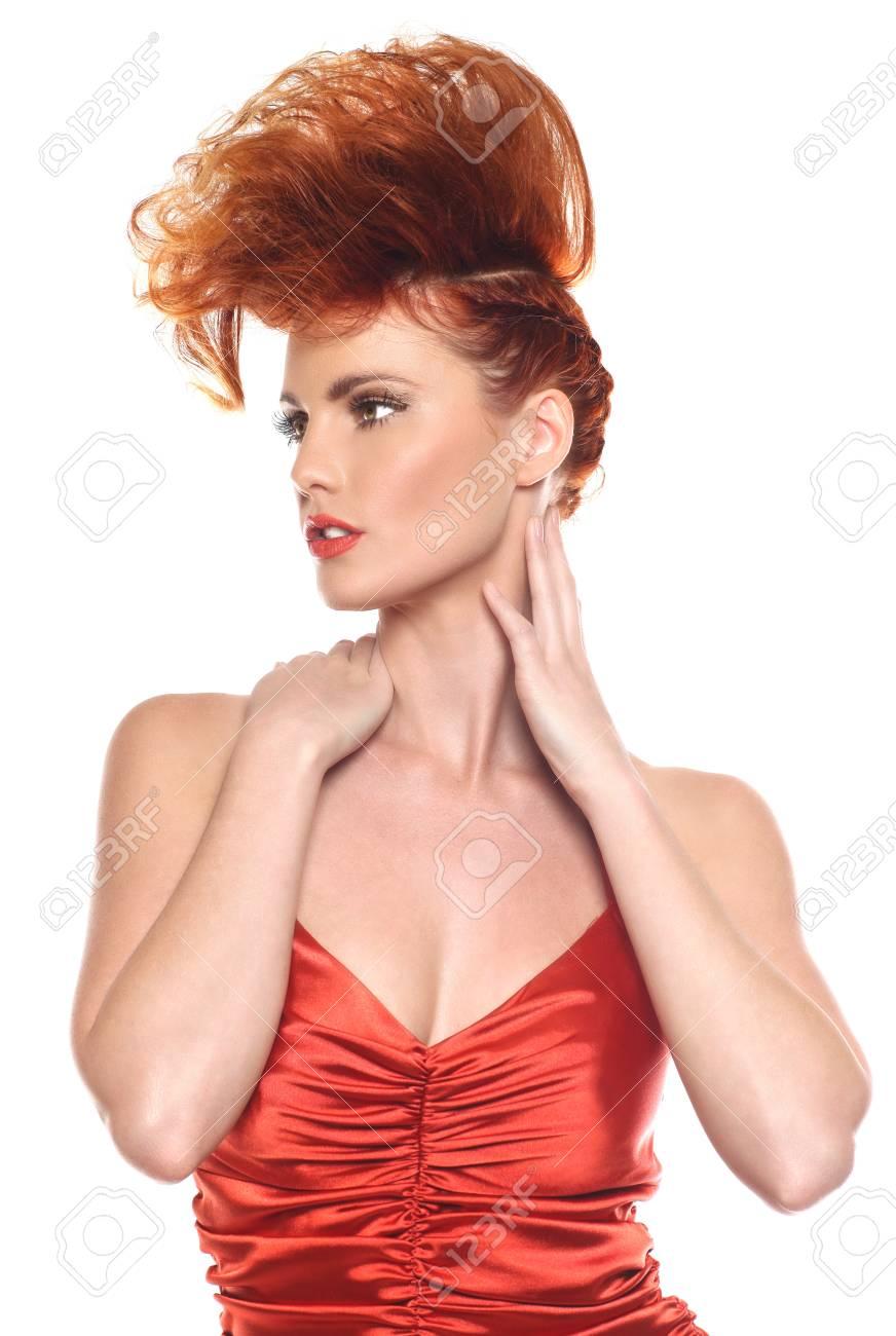 Woman in High Fashion Stock Photo - 13098957