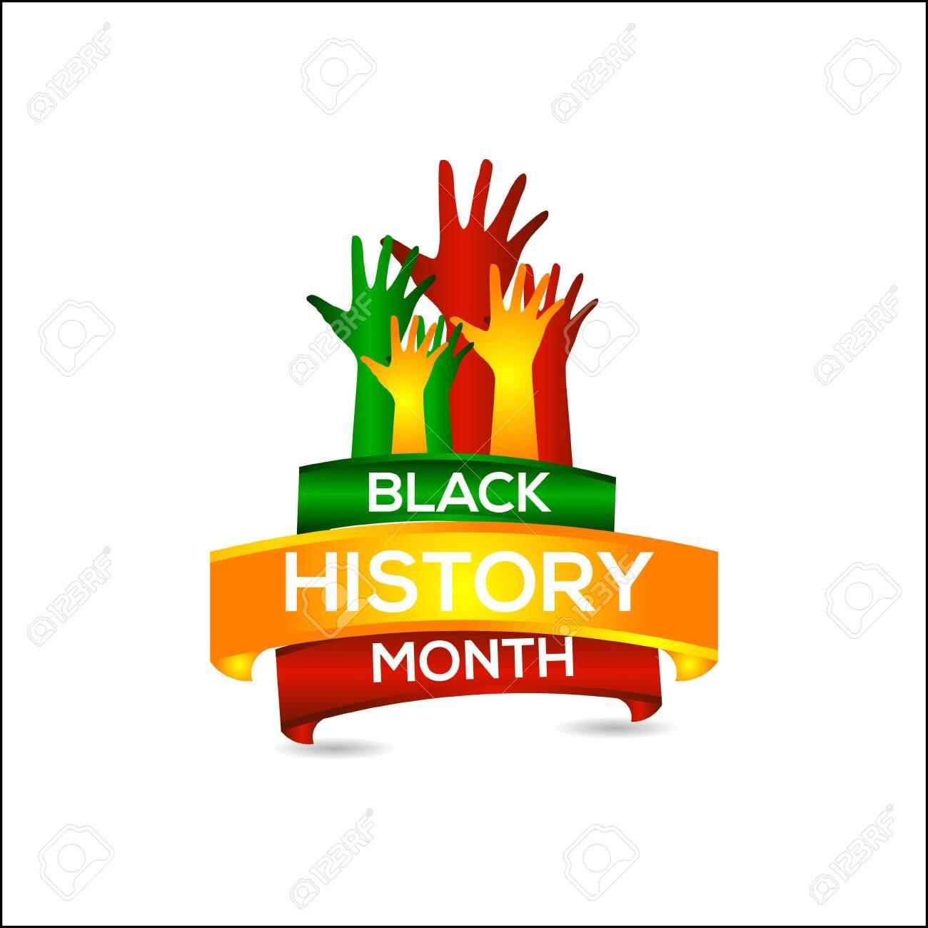 Black History Month Vector Template Design Illustration - 124358961
