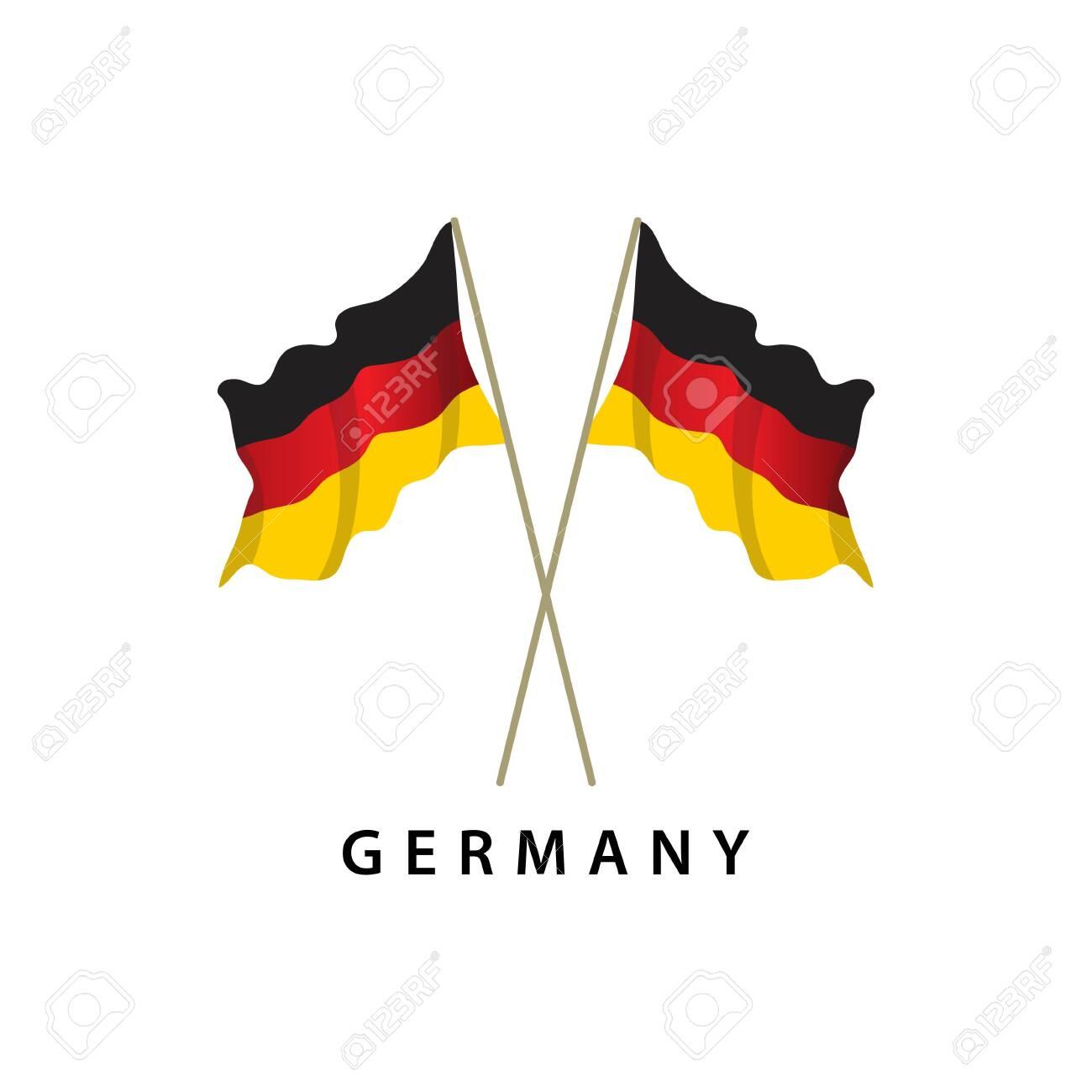 Germany Flag Vector Template Design Illustration - 122571392