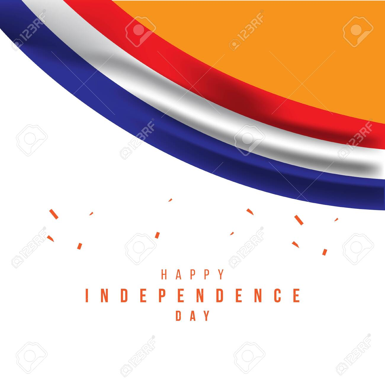 Happy Netherlands Independence Day Vector Template Design Illustration - 138363081
