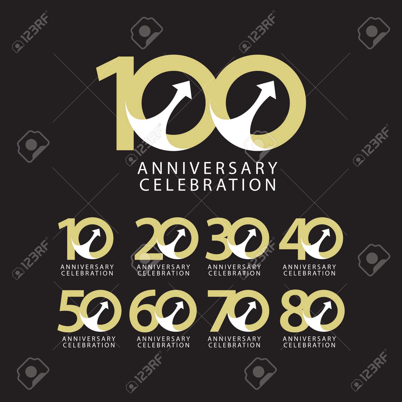 100 Years Anniversary Celebration Vector Template Design Illustration - 163698044