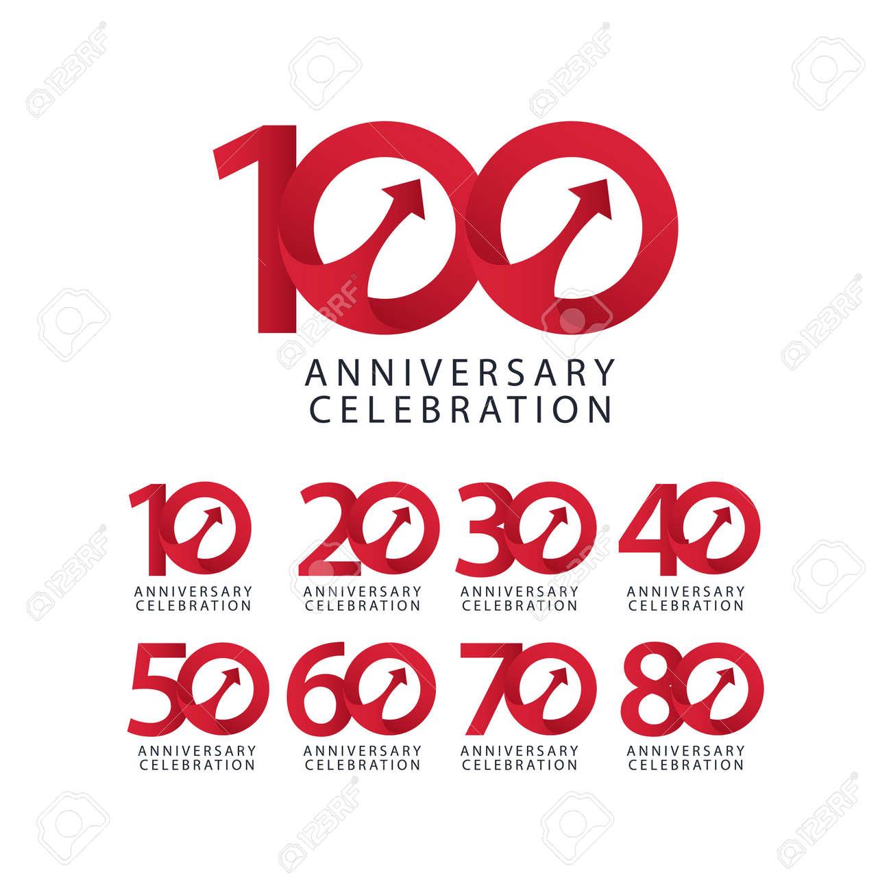 100 Years Anniversary Celebration Vector Template Design Illustration - 163698164