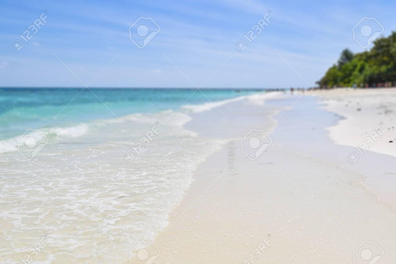 Tachai 島は タイ南部のアンダマン海の美しいビーチです みんなは