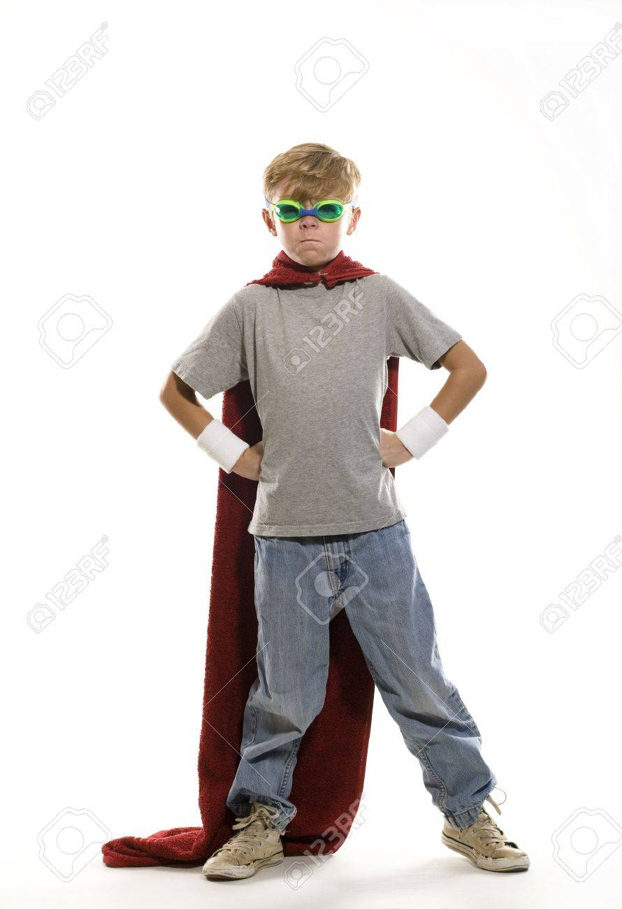 Young Super Hero Stock Photo - 10793870