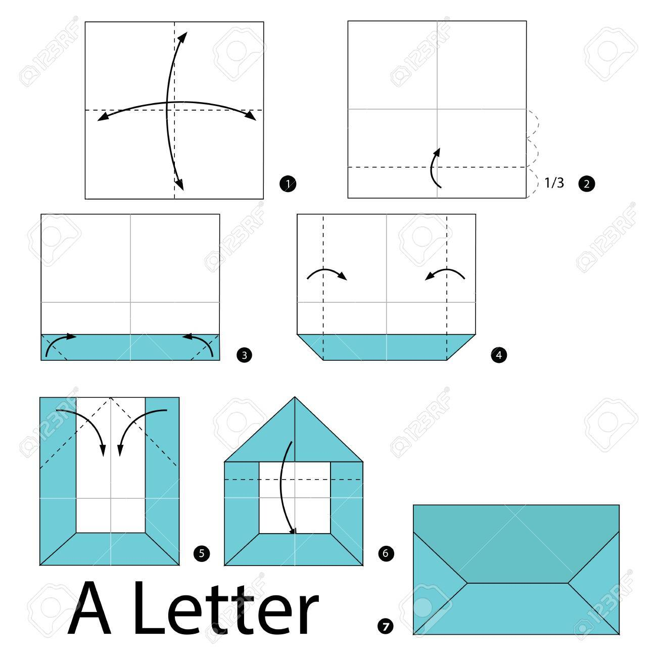 9 Letter Folds That Will Impress Your Penpals - Maple Post | 1300x1300