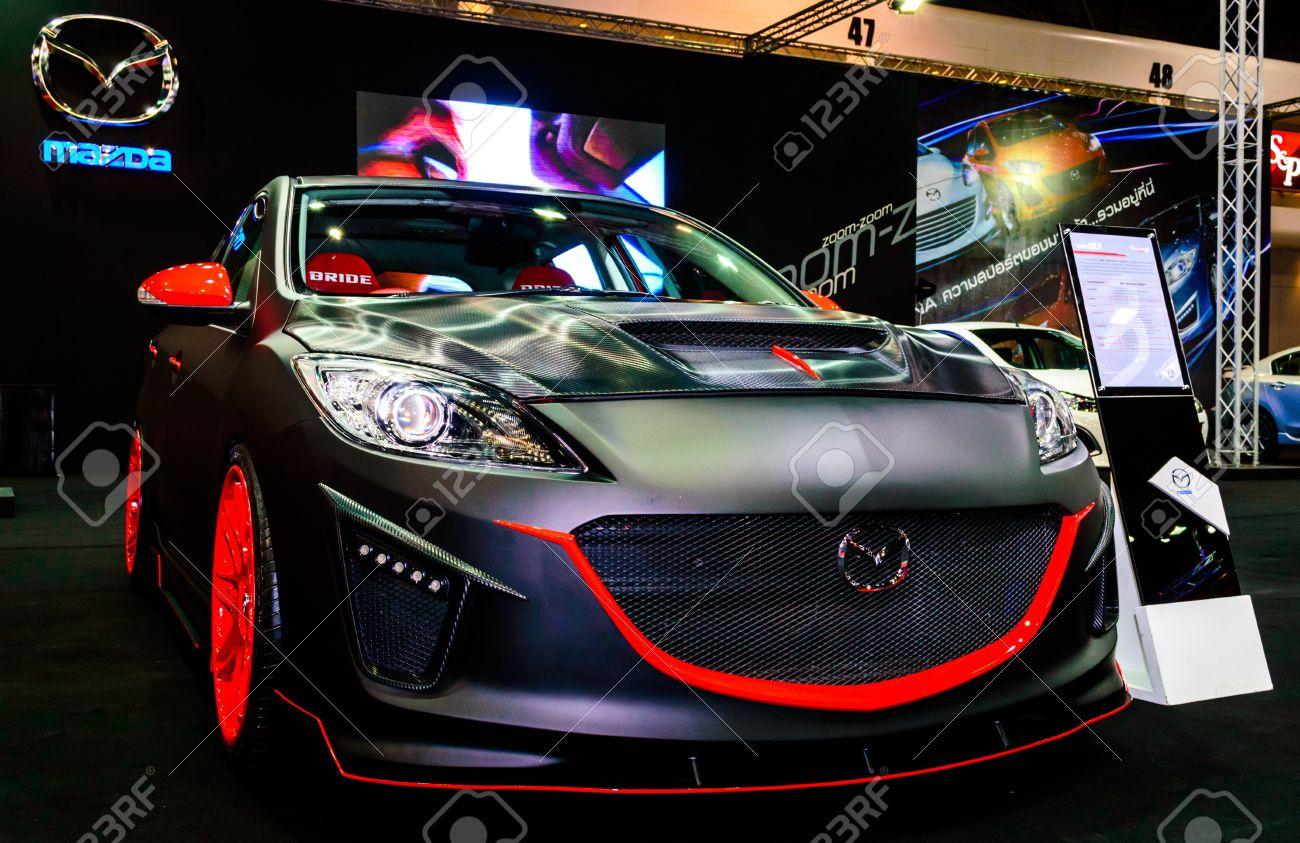 BANGKOK - JUNE 20 Mazda 3 On Display At Bangkok International ...