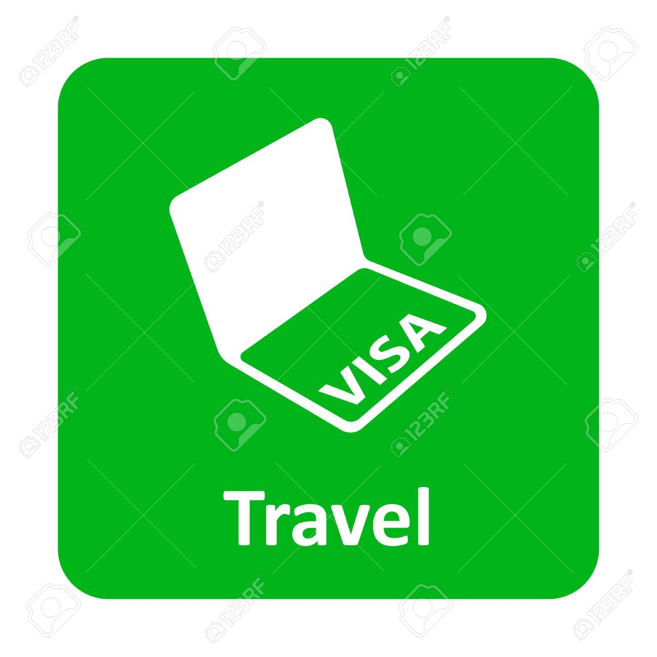 Visa in passport vector icon for web and print royalty free cliparts visa in passport vector icon for web and print stock vector 62055664 biocorpaavc Choice Image