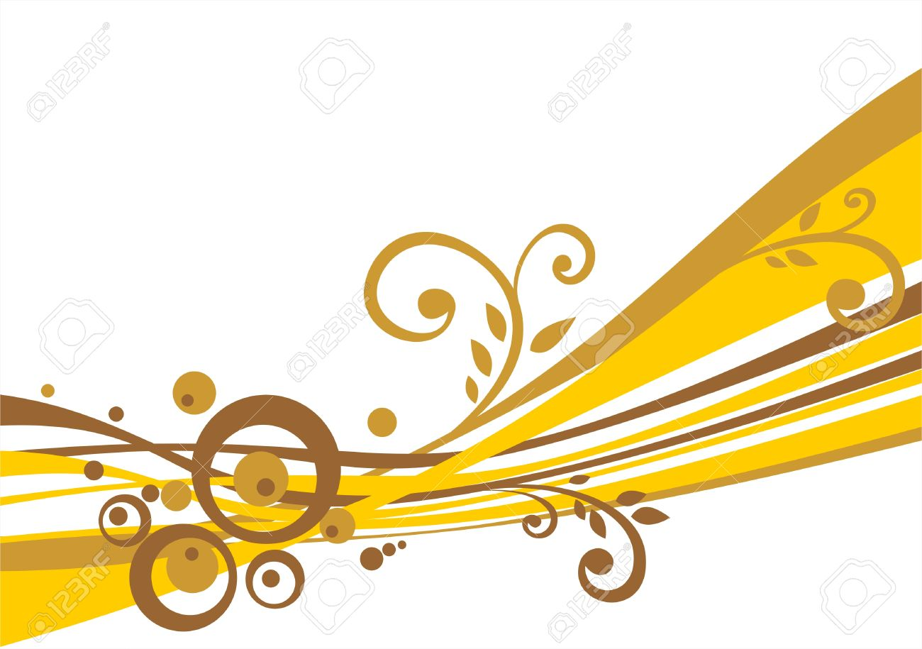 1828362c634 Abstract Background With Gold And Bronze Circles