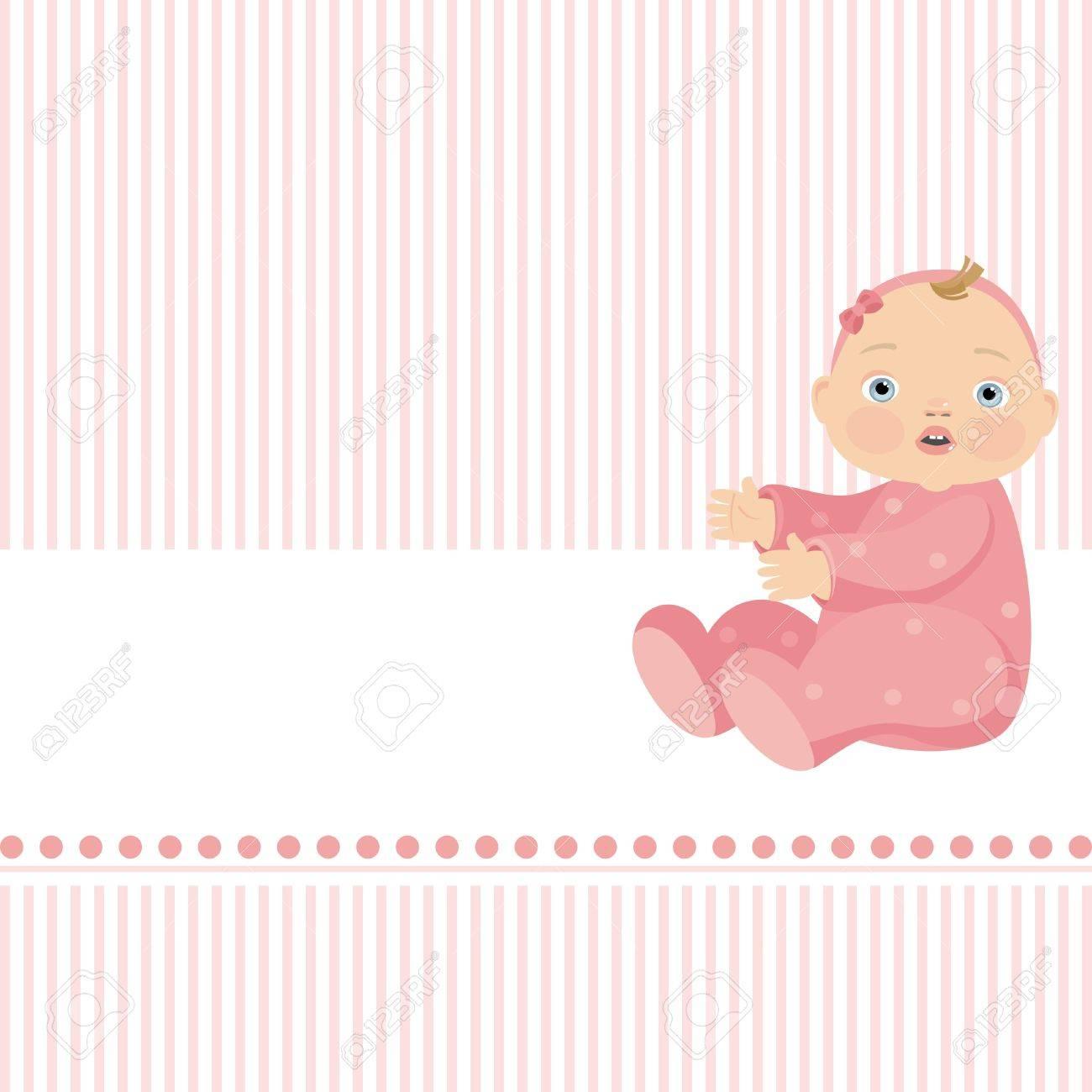 little girl Stock Vector - 8495880