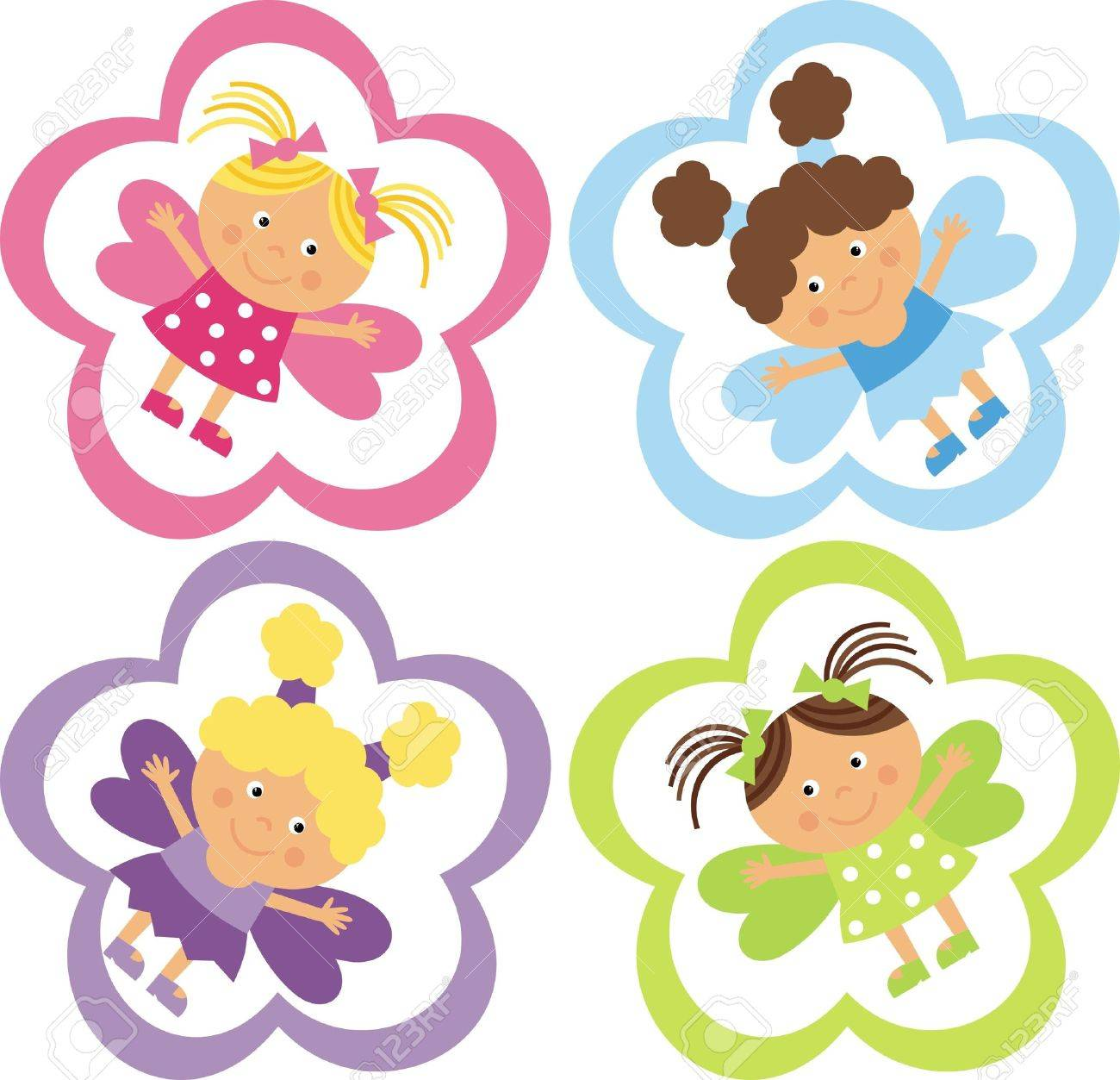 tag with the fairies royalty free cliparts vectors and stock