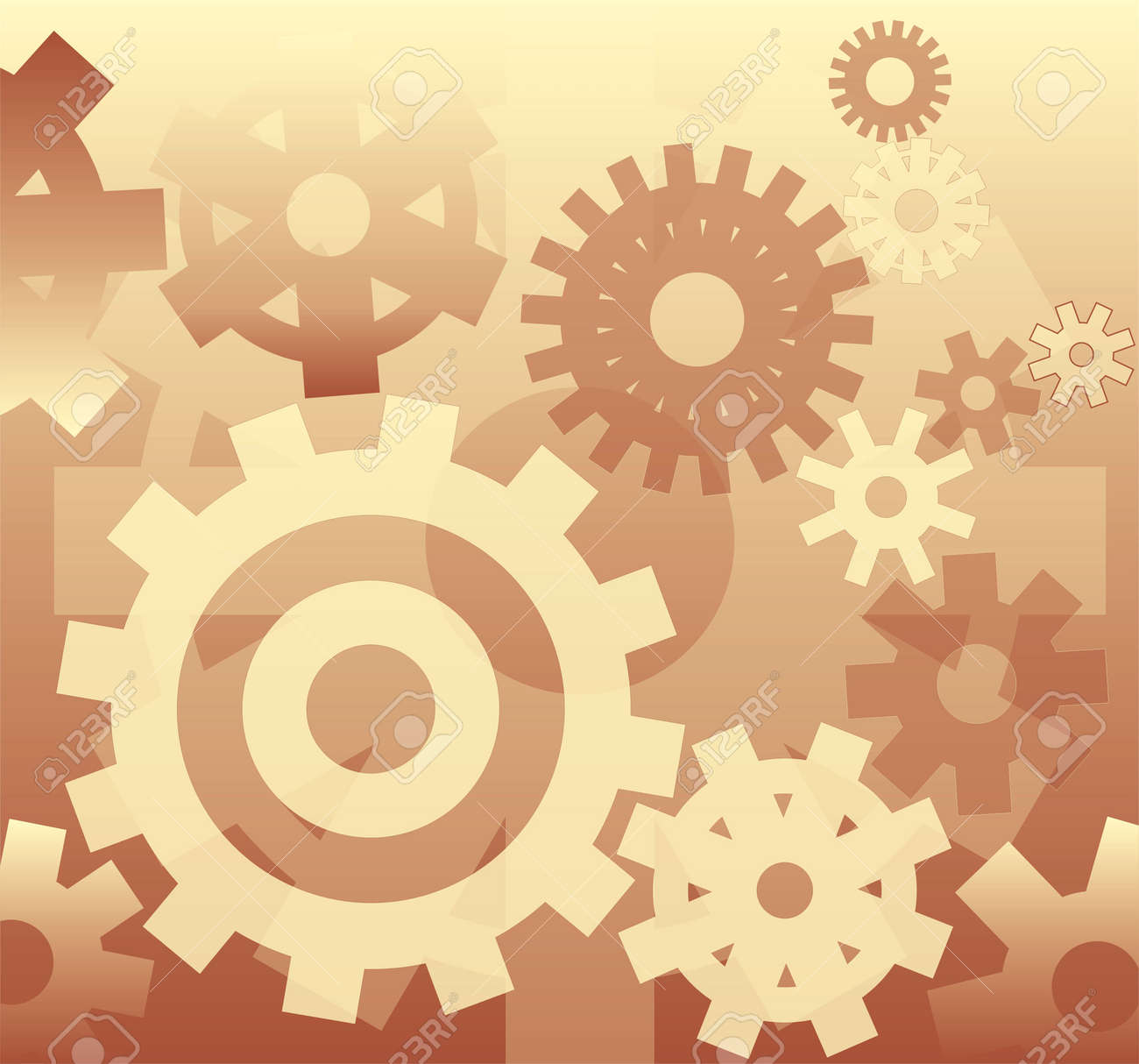 Background - mechanism, illustration Stock Photo - 299489