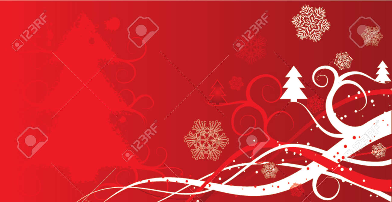 Christmas winter background, vector illustration Stock Vector - 667175