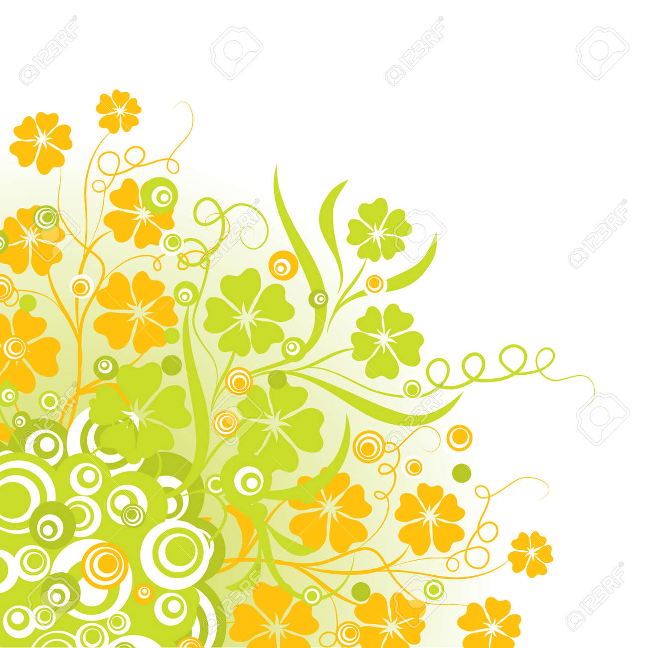 Floral background Stock Photo - 895422