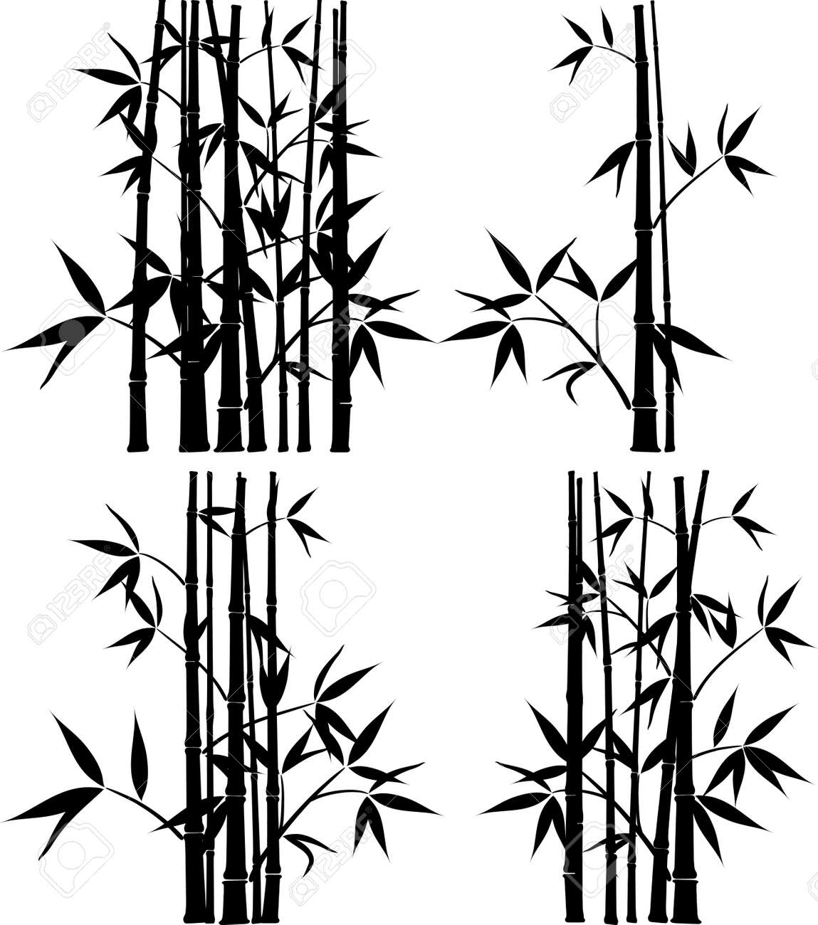 bamboo vector illustration royalty free cliparts vectors and stock illustration image 8960734 bamboo vector illustration