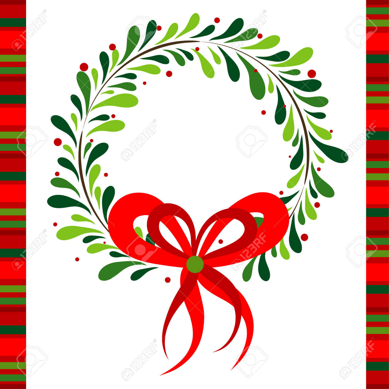 Template christmas greeting card, vector illustration Stock Vector - 16683776