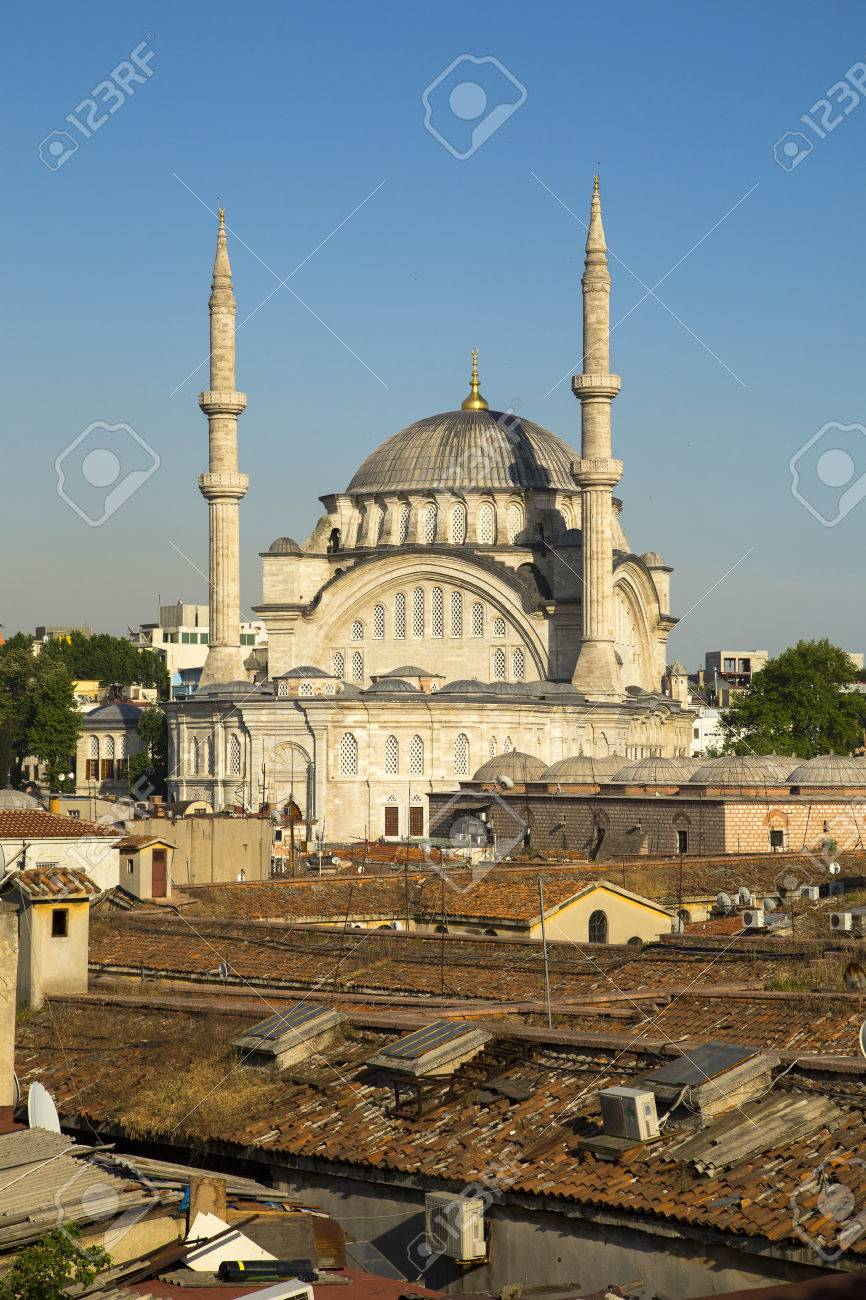 The Nuruosmaniye Mosque Is An Ottoman Mosque Located In The