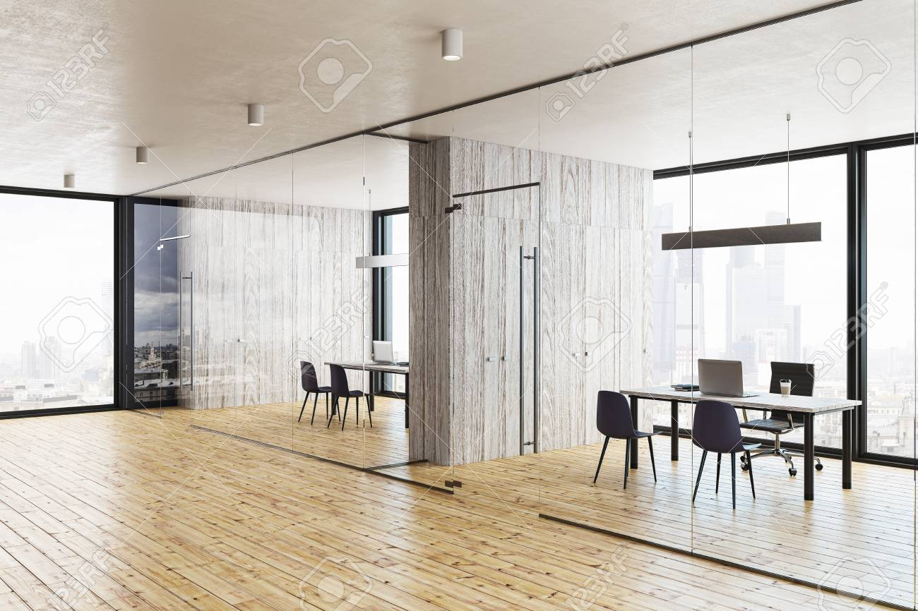 Office hallway Csgo Modern Glass Office Hallway With Panoramic City View 3d Rendering Stock Photo 102066072 123rfcom Modern Glass Office Hallway With Panoramic City View 3d Rendering