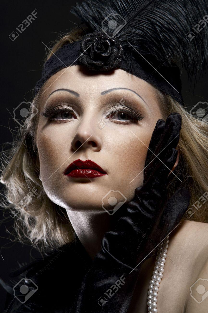 Стиль 30-х годов макияж фото