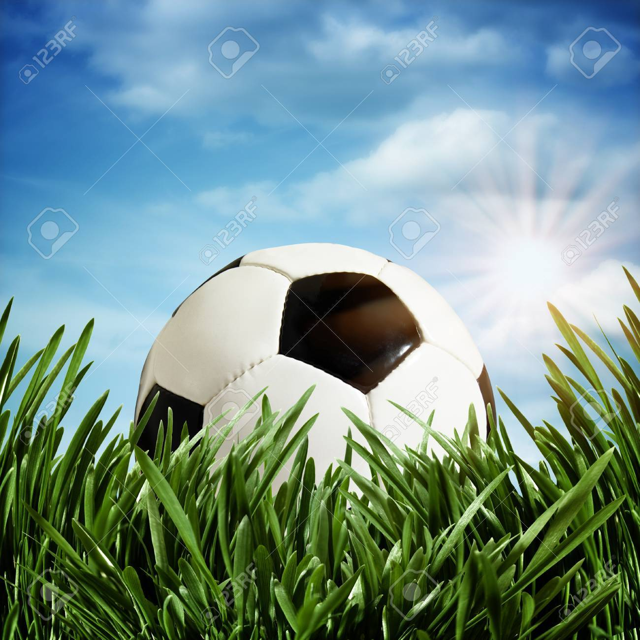 Abstract football or soccer backgrounds Stock Photo - 14889649