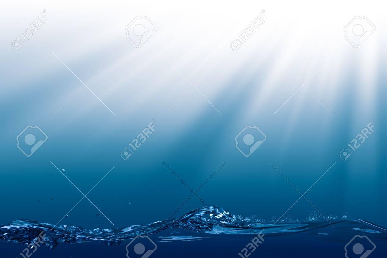 Deep Ocean, abstract environmental backgrounds wit copyspace - 20214484