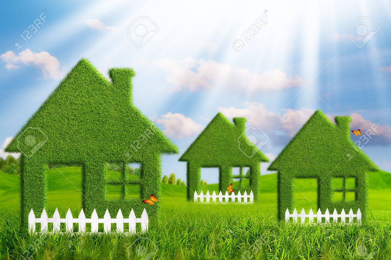 Green House. Abstract environmental backgrounds - 20443709