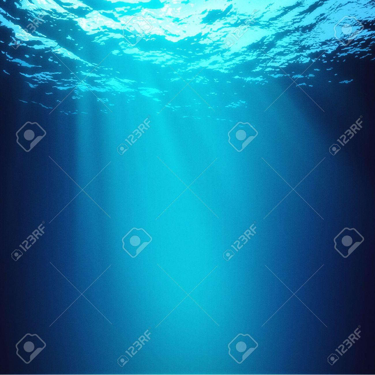 Abyss. Abstract underwater backgrounds - 20443716