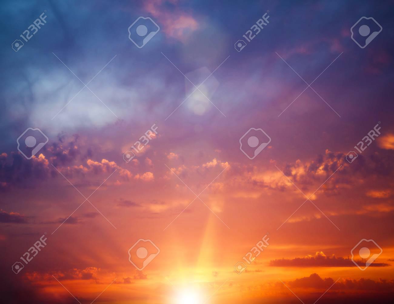 Immagini Stock Soleggiato Alba Sul Mare Sfondi Astratti