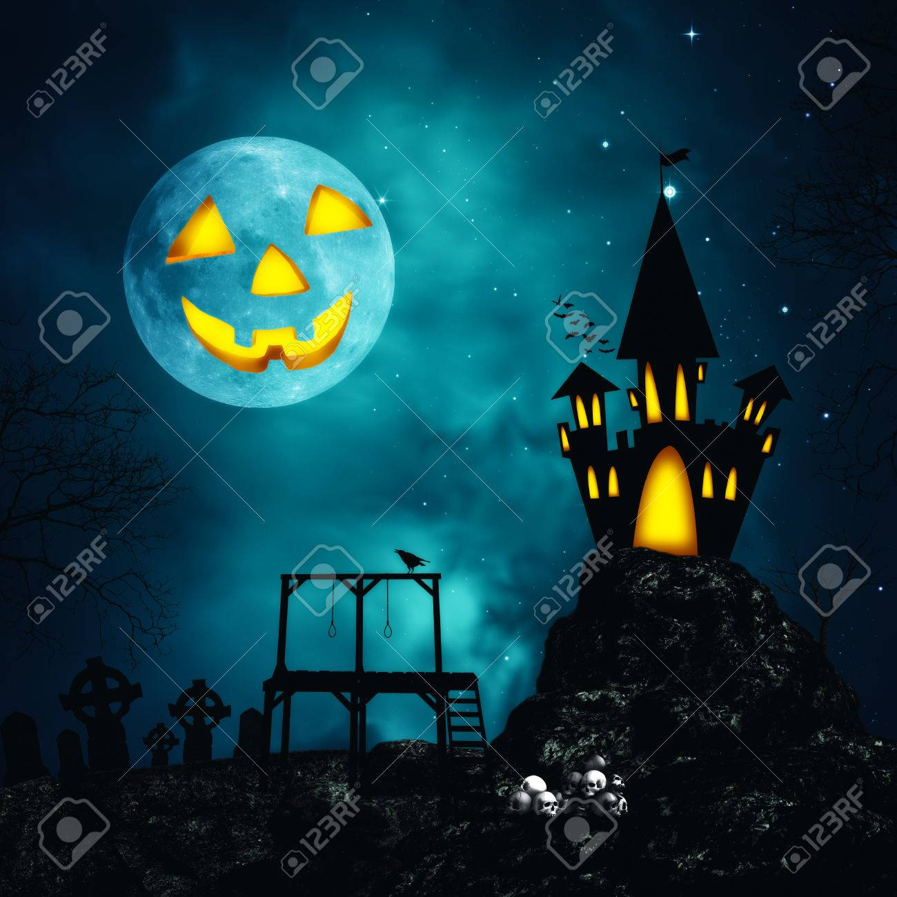 Happy Halloween. Abstract horror backgrounds for your design Stock Photo - 22510433