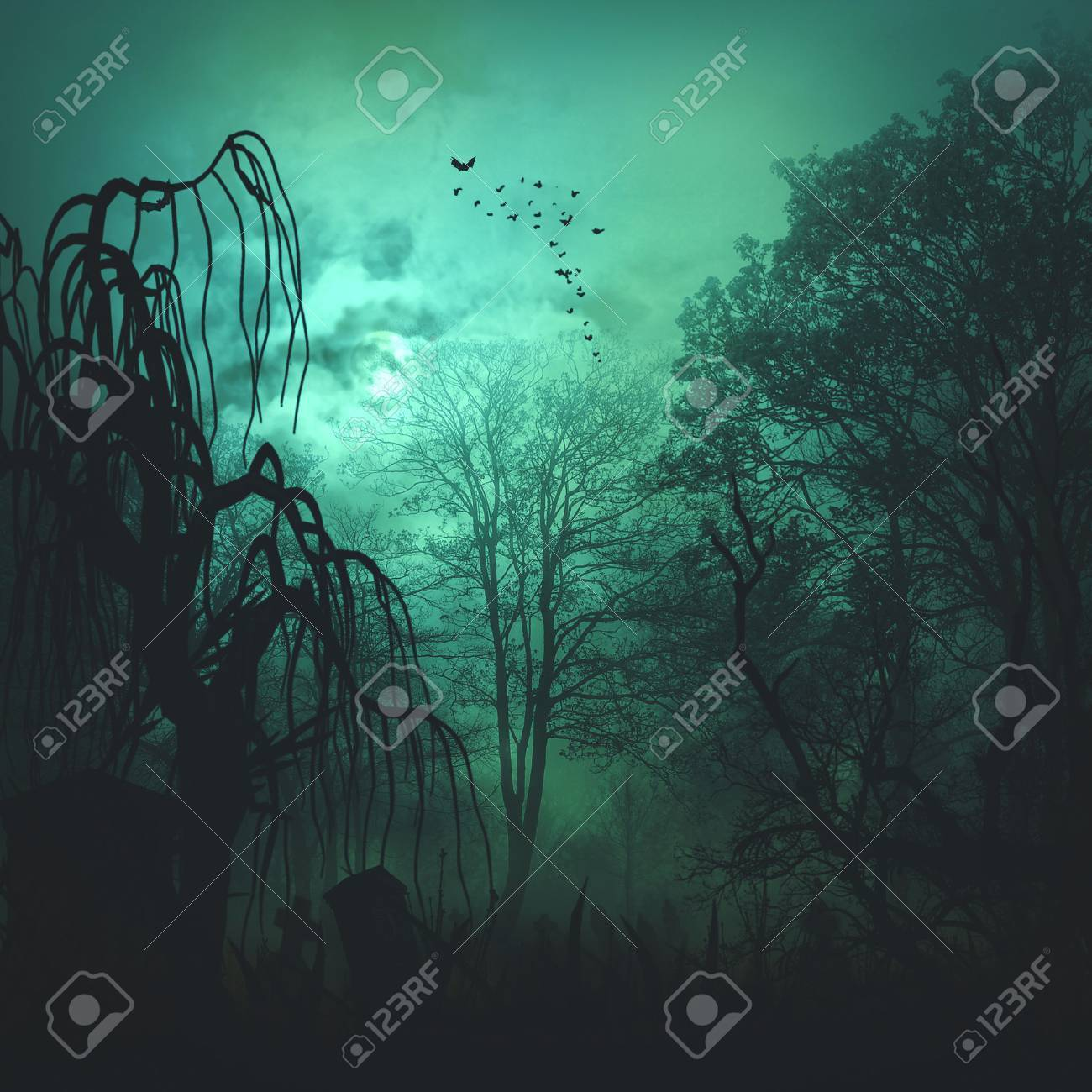 Abstract horror backgrounds for your design - 23432019