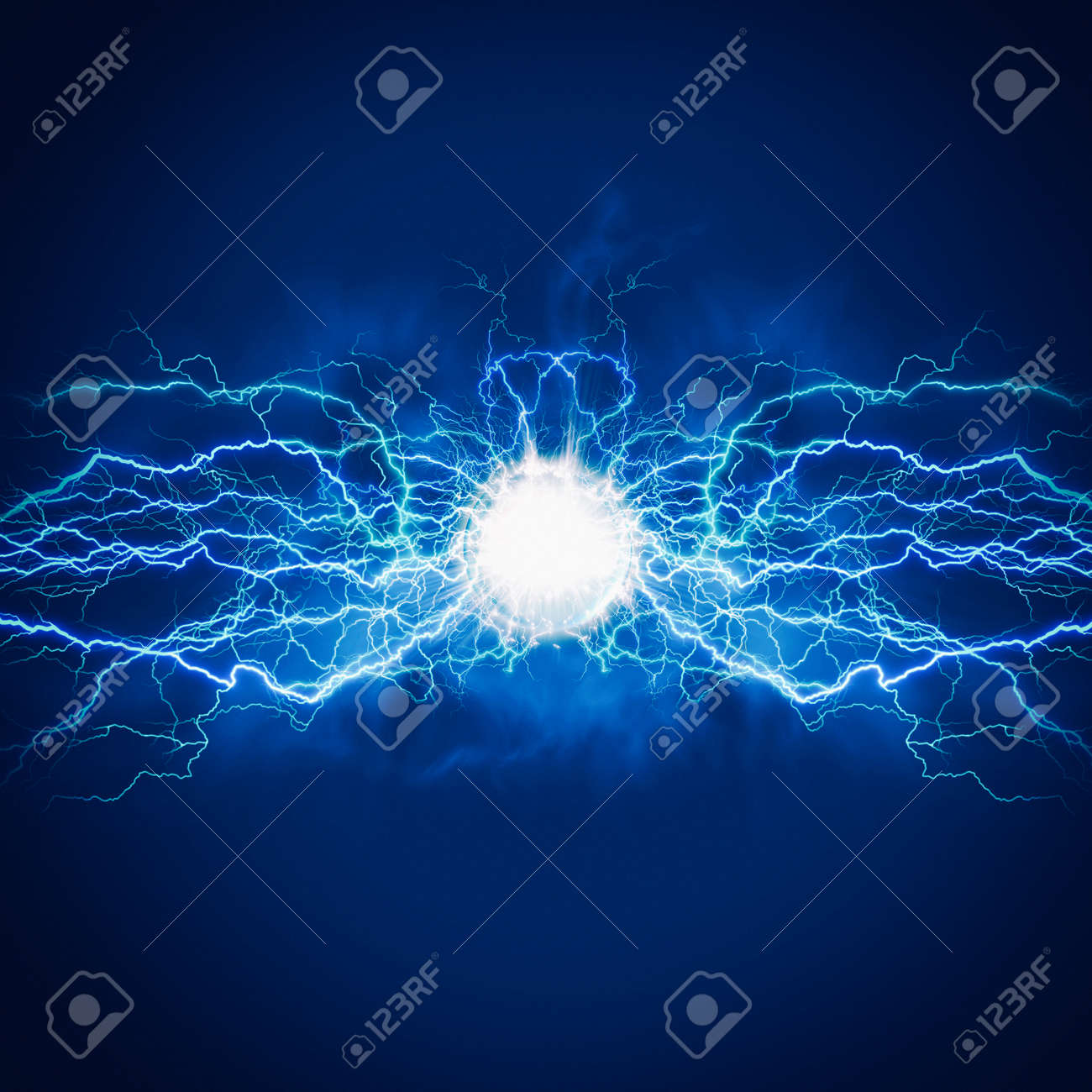 High voltage electric bolt. Teleport flash. Abstract power and energy backgrounds - 159256714