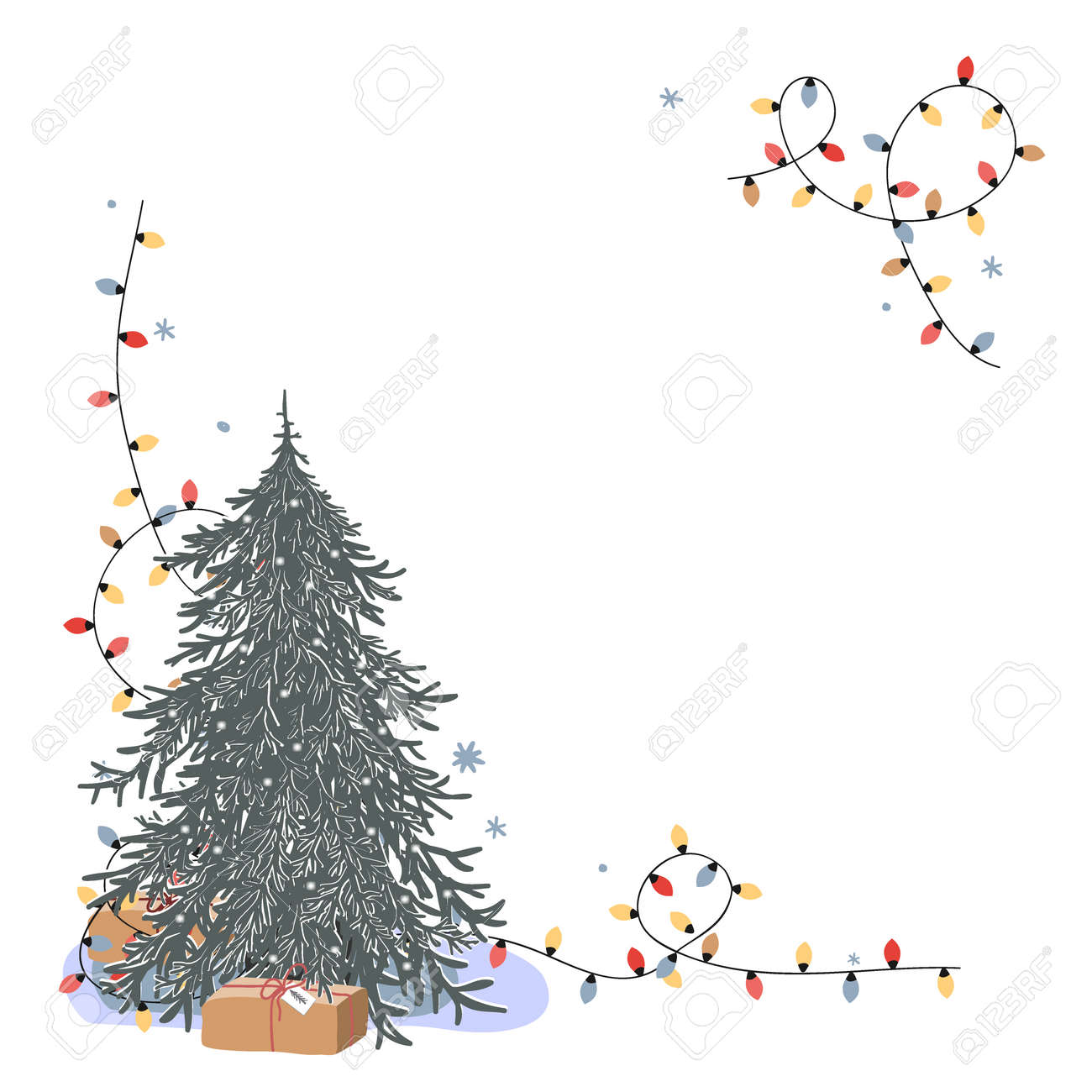 Christmas Corner Composition With Place For Text Fresh Undecorated Royalty Free Cliparts Vectors And Stock Illustration Image 158872775 Christmas and christmas , christmas tree, christmas ornament, christmas border, christmas lights, christmas wreath, christmas garland, christmas elf, christmas star, nightmare before christmas, christmas santa, christmas cartoon, christmas reindeer, christmas stocking. christmas corner composition with place for text fresh undecorated