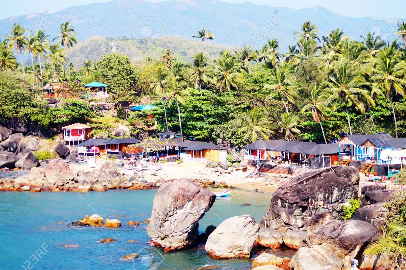 Palolem Beach, South Goa, India. One Of The Best Beaches In Goa ...