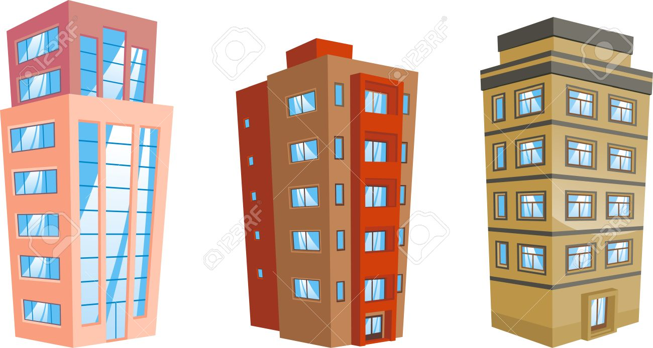 Apartment Building Vector Line Icon, Sign, Illustration On White.. Royalty Free  Cliparts, Vectors, And Stock Illustration. Image 87221368.