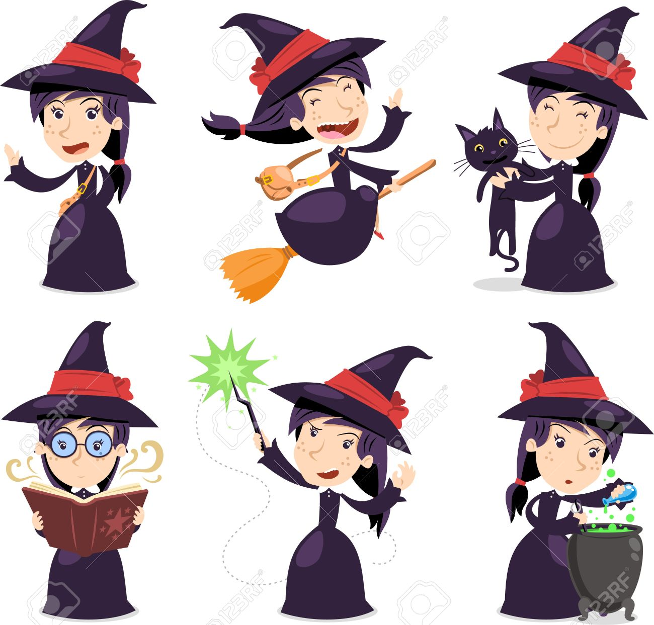 3,031 Witch Dress Cliparts, Stock Vector And Royalty Free Witch ...