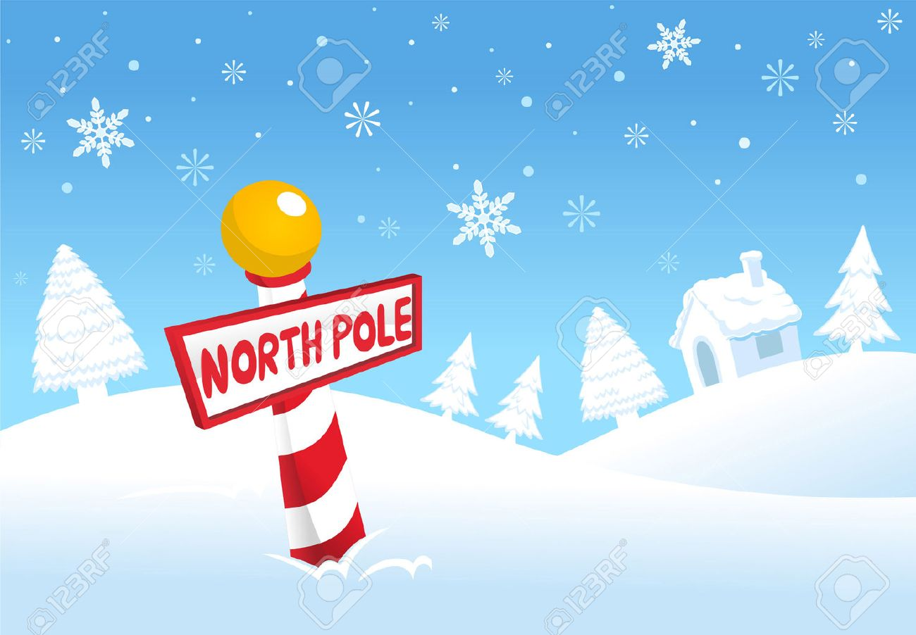 christmas north pole pictures