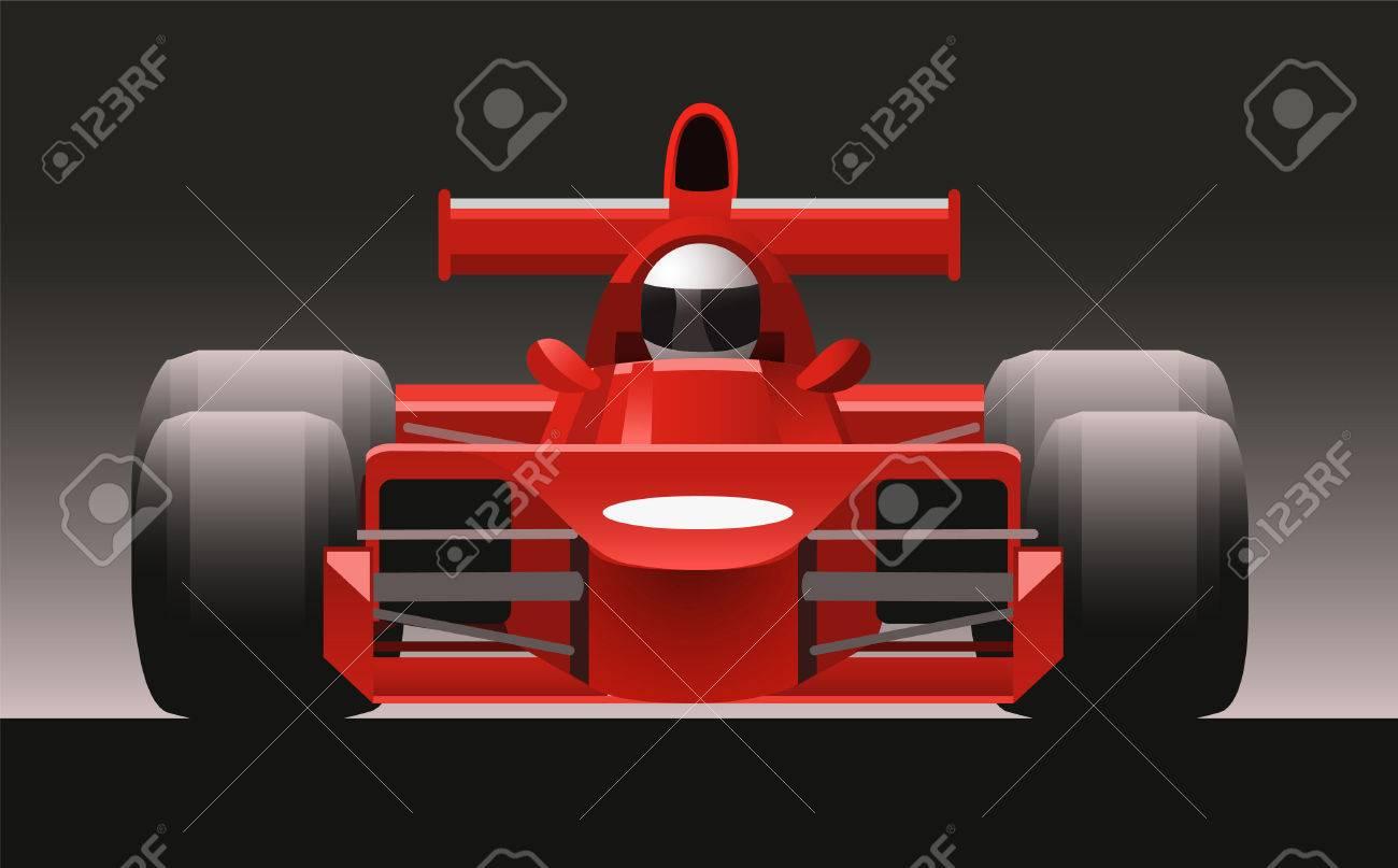 F1 Formula One Racing Icon Car Vector Illustration Cartoon Royalty Free Cliparts Vectors And Stock Illustration Image 34229986
