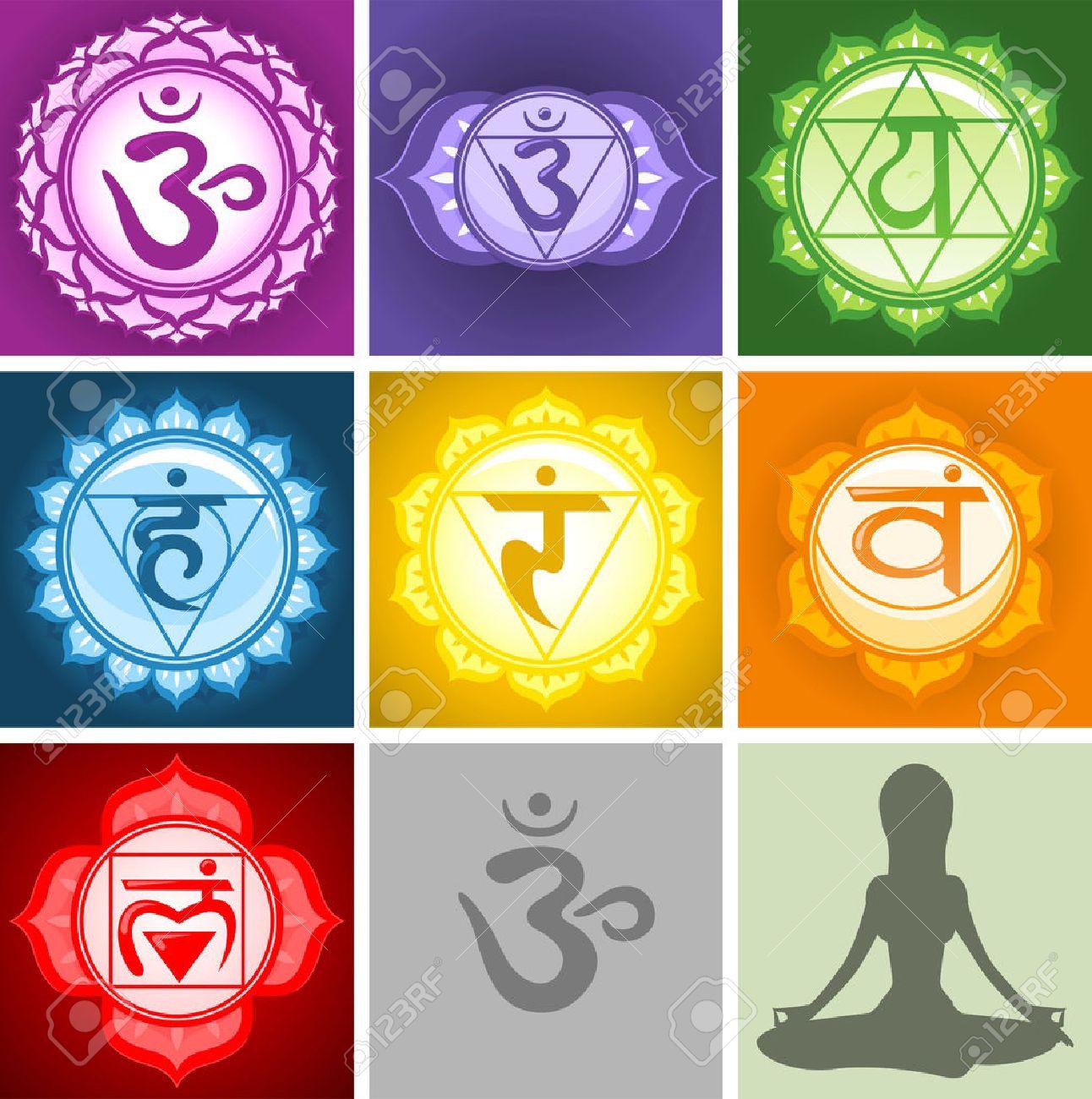 Chakra stock photos royalty free business images yoga chakras symbols collection illustration buycottarizona