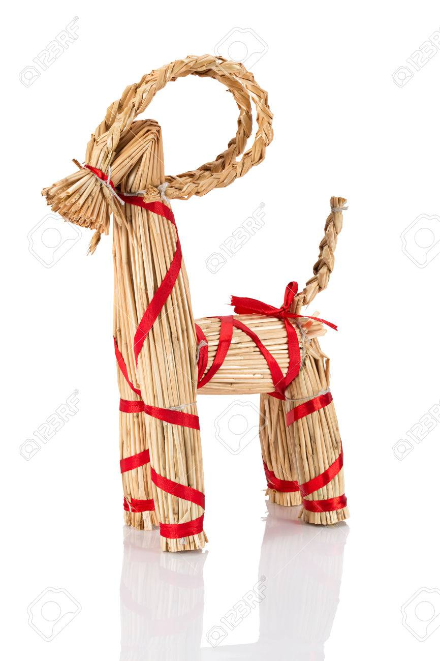 Yule Goat Or Christmas Goat, A Scandinavian And Northern European ...