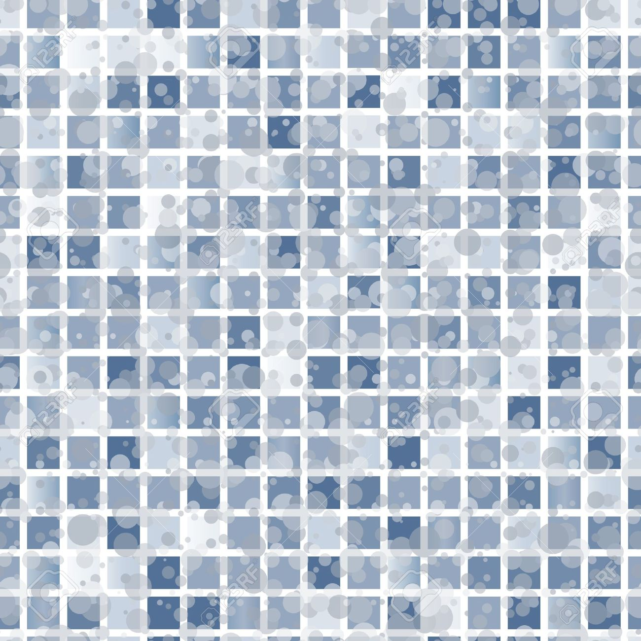 Abstract Seamless Brown Tiles Background Royalty Free Cliparts